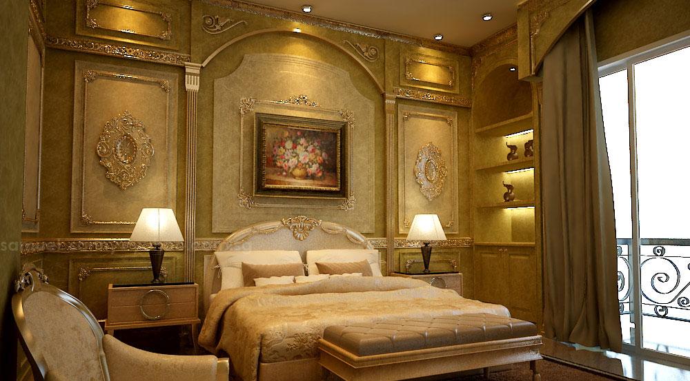 wall decorating bedroom ideas غرفة النوم هي عنوان أناقة وجمال منزلك