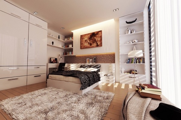 warm color palette 600x399 تصاميم غرف نوم لأصحاب الذوق الرفيع